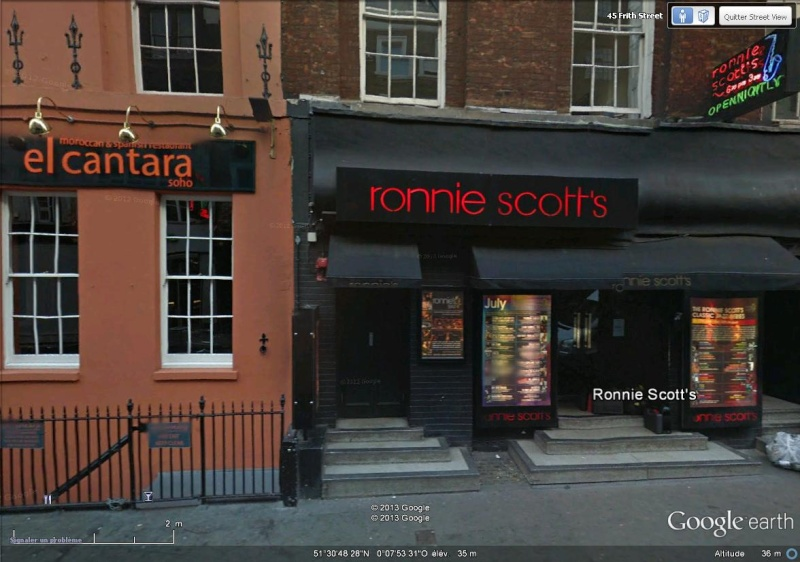 [Royaume-Uni] - Le Ronnie Scott's, club de jazz de Londres ouvert en 1959 Ronnie11