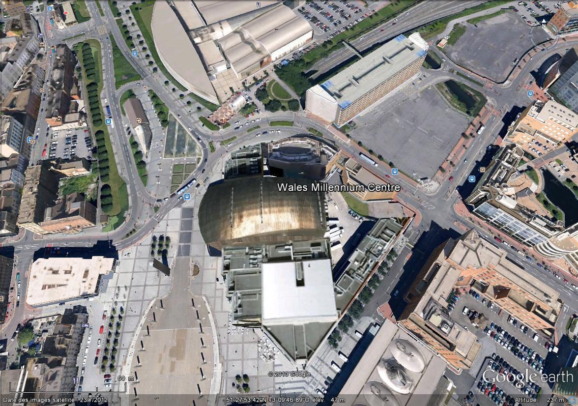 [Royaume-Uni] - Centre d'Art Wales Millennium Centre, Cardiff - Pays de Galles.  Wales_10