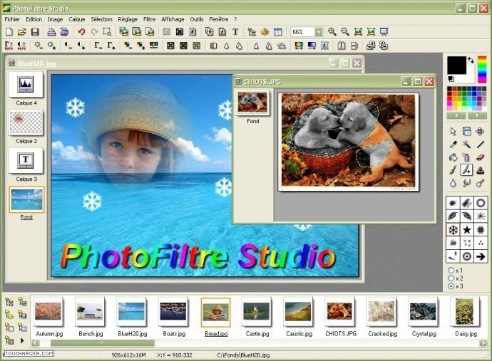 أفضل برامج التأثير على الصور و تغييرها PhotoFiltre Studio v9.2 C1106913