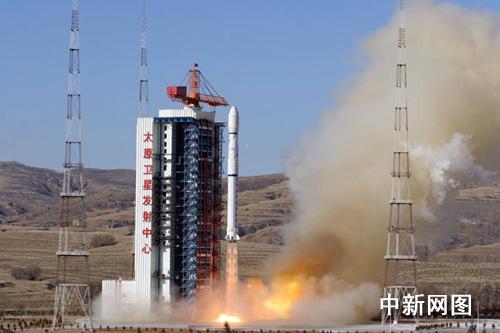 """Lancement du Satellite """"YaoGan-5"""" par une CZ-4B à TSLC 113"""