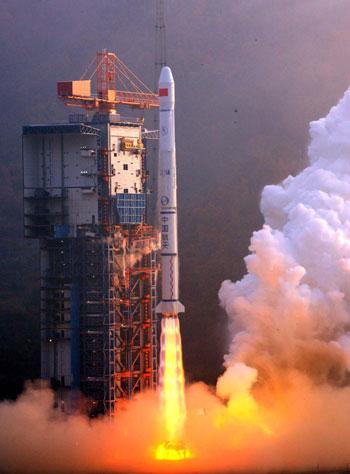 Lancement du Satellite Météorologique  FY-2E (FY-2 06) par CZ-3A-Y20 à XSLC 215