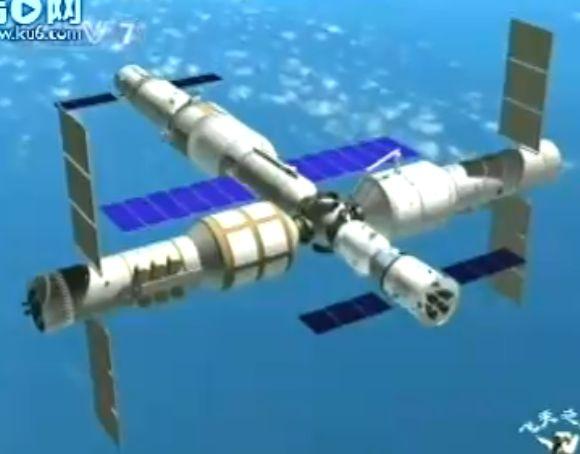 La station chinoise sera lancée par une Longue Marche V 810
