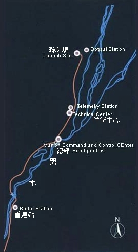 Centre spatial de Jiuquan (JSLC) Map_410