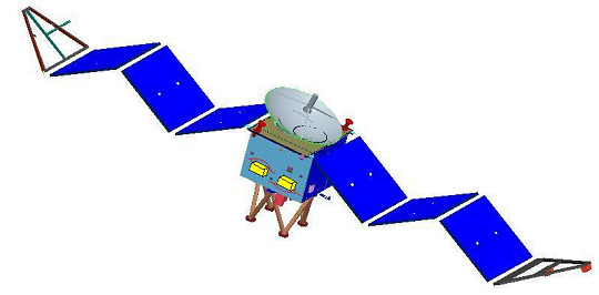 Yinghuo-1 -  Sonde chinoise autour de Mars Yinghu10