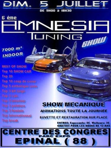 6eme AMNESIA TUNING show 22227510
