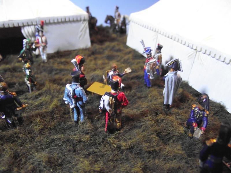 Diorama 1/72 L'Etat Major de Napoléon en 1808 Etat_m14