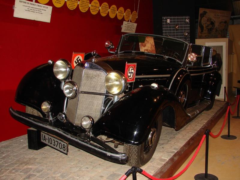Avril 1945 2ème DB Berstechgaden Mercedes 770 Grosser Mercedes W150 (décapotable Dsc00711