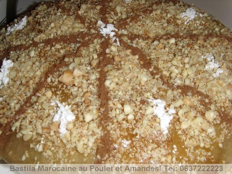 Bastilla Marocaine au Poulet et Amandes Bastil12