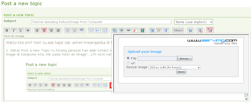Tutorial Uploading Picture/Image From Computer Untitl40