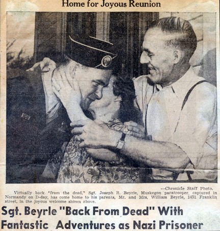 Un Américain à Moscou – Sgt Joseph R. Beyrle. Beyrle11