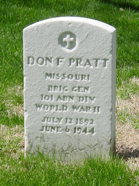 Mort du premier Général Américain en Normandie. Dfprat10