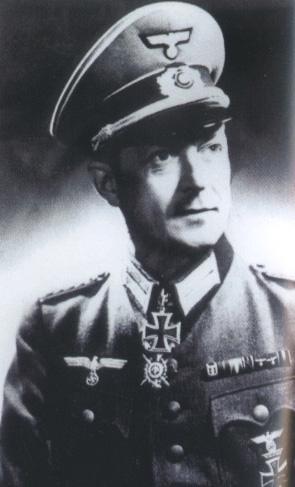 Mort du premier Général Allemand en Normandie. Falley10