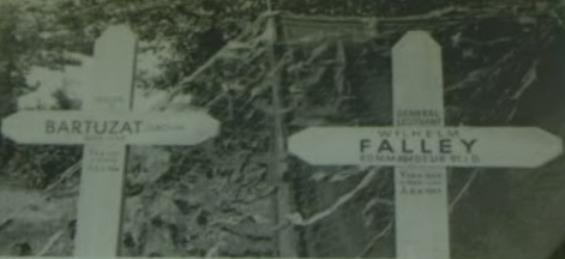 Mort du premier Général Allemand en Normandie. Falley12