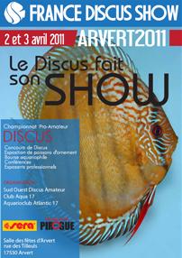 France Discus Show  à Arvert - Avril 2011 Affich11