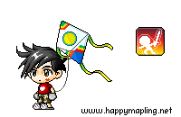 Me and what i look like maplestory wise :] Anothe10