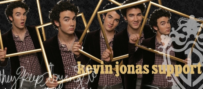 Kevin Jonas Support
