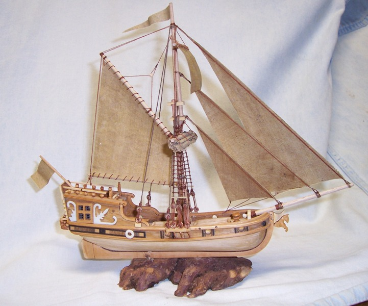 rénovation de mon premier bateau en bois yatch du 16ème - Page 2 011