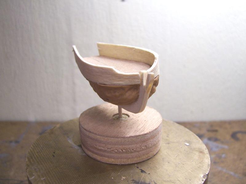 Coquilles de noix - Black Shell (Pearl) Cnbp0611