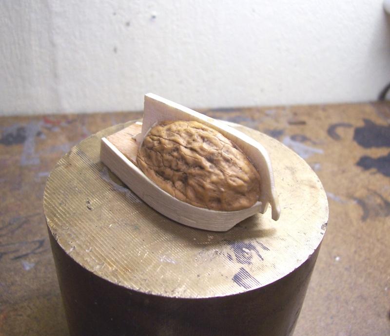 Coquilles de noix - Black Shell (Pearl) Cnbp0910