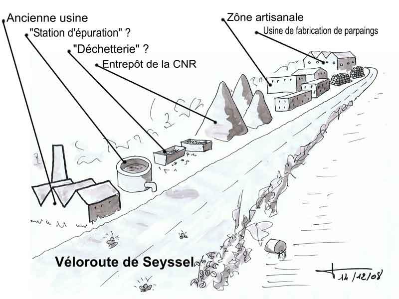 Véloroute de Seyssel... De-08-10