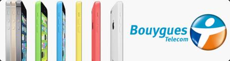 L'iPhone 5S et 5C disponible chez Bouygues Telecom et B&YOU 13797010