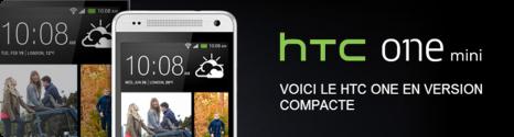 HTC One Mini Noir disponible chez Bouygues Telecom et B&YOU 13806510
