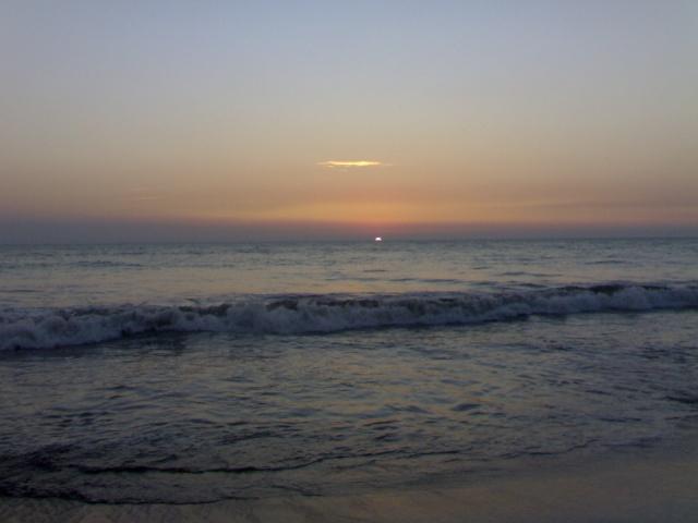Sunset Picture of Cox's Bazar Sea Beach 04012013