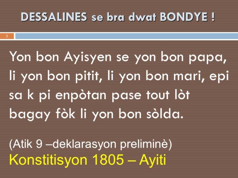 Tiecoura Dessalines Slide210