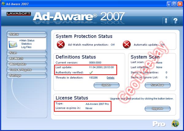 Lavasoft.Ad-Aware.2007.v7.0.2.7.PRO +Patch 2z4ihj10