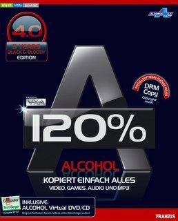 Alcohol 120% Black Edition 4.0 {31 Adede Kadar Sanal CD/DVD Sürücüsü Oluşturulabilir} 343oeg10