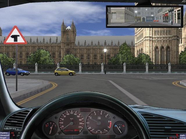Ehliyet Sınavlarında kullanılan Araba Simulatörü Oyunu L07sho10