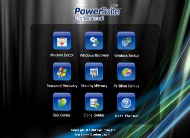 Spotmau PowerSuite 2008 Professional Wincare 2.0.4283 Spotma10