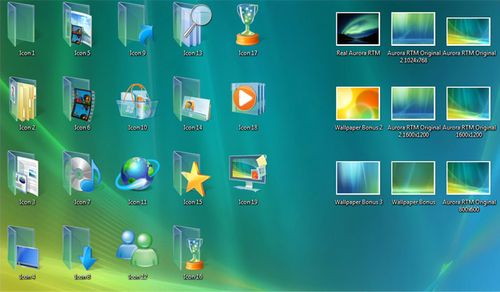 Windows Vista RTM 6000 Official Wallpapers + Icons Window10