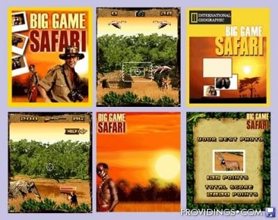 Big Game Safari - Mobile Java Games 2rrowm20