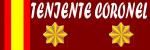 TENIENTE CORONEL