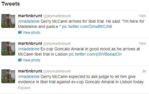 LIBEL TRIAL DISCUSSION HERE   Tweets10