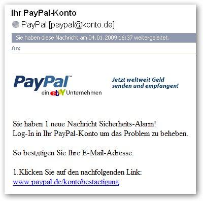 Das böse Internet...Aufgepasst ! Paypal10