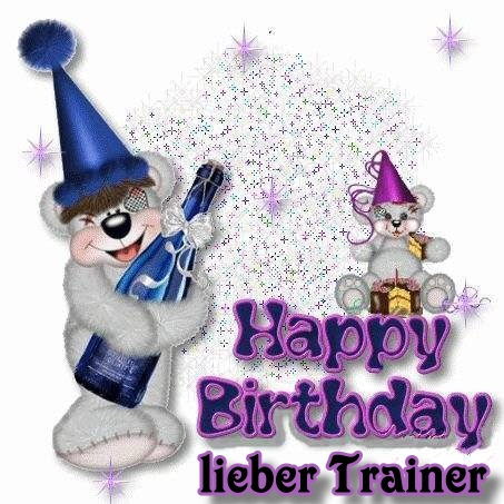 Happy Birthday Trainer Traine10