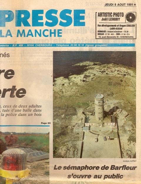 SÉMAPHORE - BARFLEUR (MANCHE) Presse17