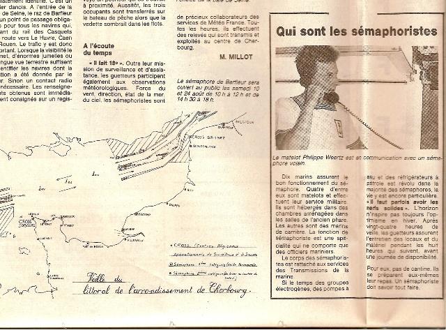 SÉMAPHORE - BARFLEUR (MANCHE) Presse19
