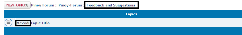 """""""Leave shadow topic in old forum""""? Hahaha11"""