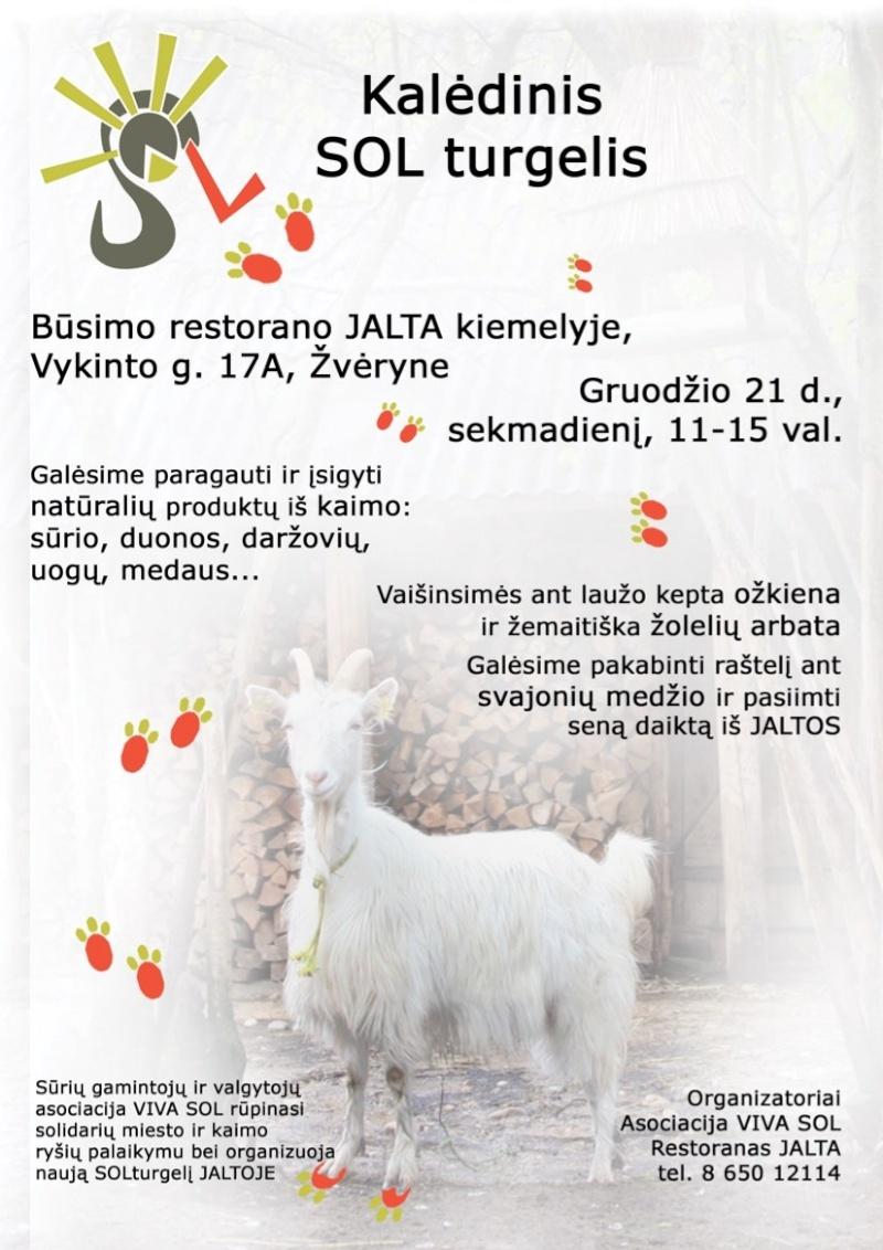 """Marché de Noël"" à Zverynas dimanche 21 Kaledi12"