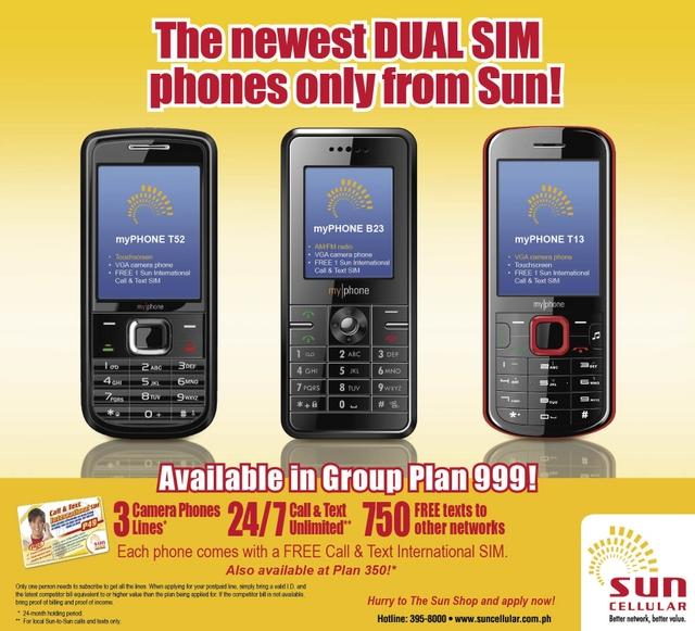 Suncellular Postpaid Dual Sim Phones Myphon11