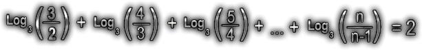 Logaritmos - Resolva em N a equação: Exer_810