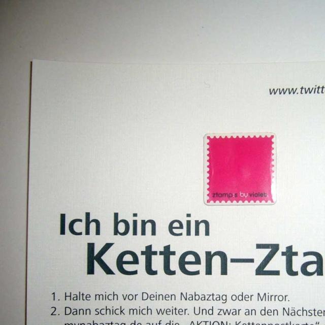 ACTION chaine de lettres ztamp Ketten11