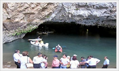Beyşehir Gölü ile bağlantılı mağara 9b326010