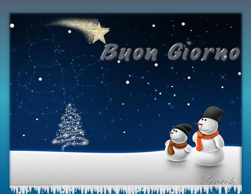 i saluti di dicembre -snowm10