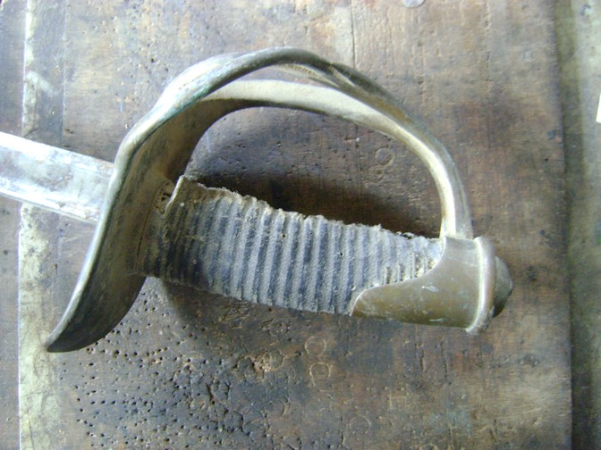 Restauration d'un sabre mle 1822 de cavalerie légère. Dsc07932