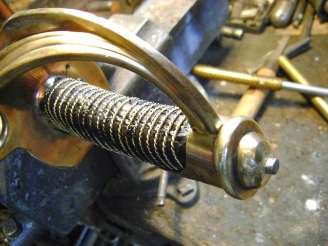 Restauration d'un sabre mle 1822 de cavalerie légère. Dsc08064