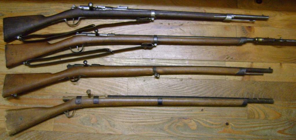 Les fusils GRAS scolaires. Dsc08229